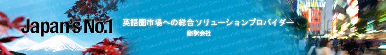 総合英語翻訳ソリューション 英語翻訳のプロジェクト実績&ポートフォリオ